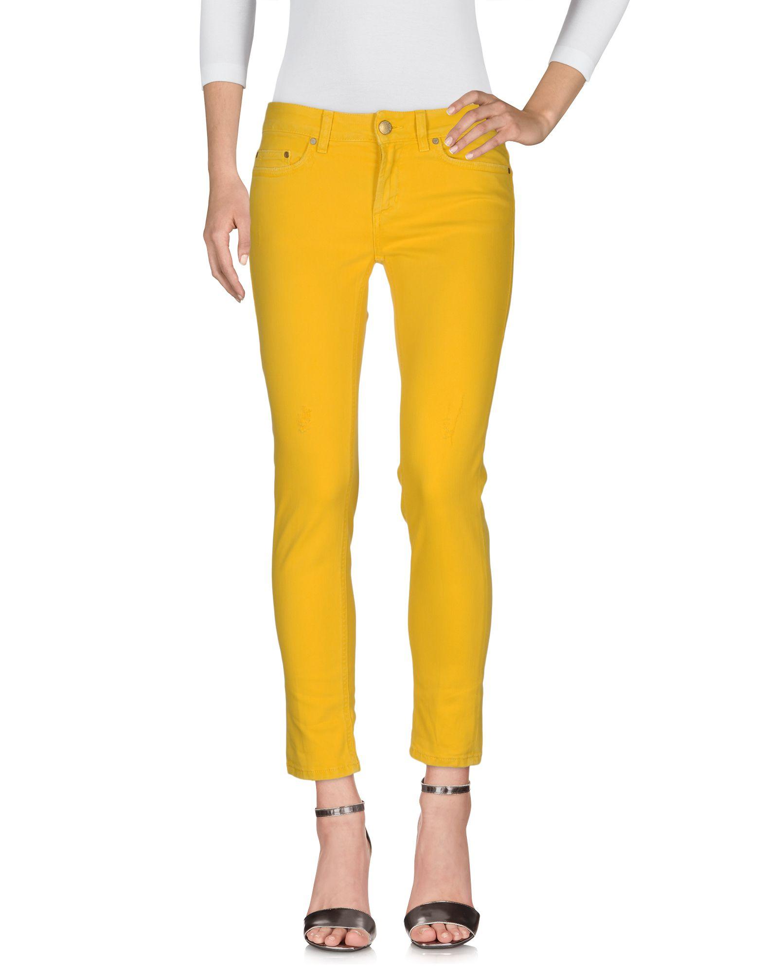 DONDUP Damen Jeanshose Farbe Gelb Größe 5 - broschei