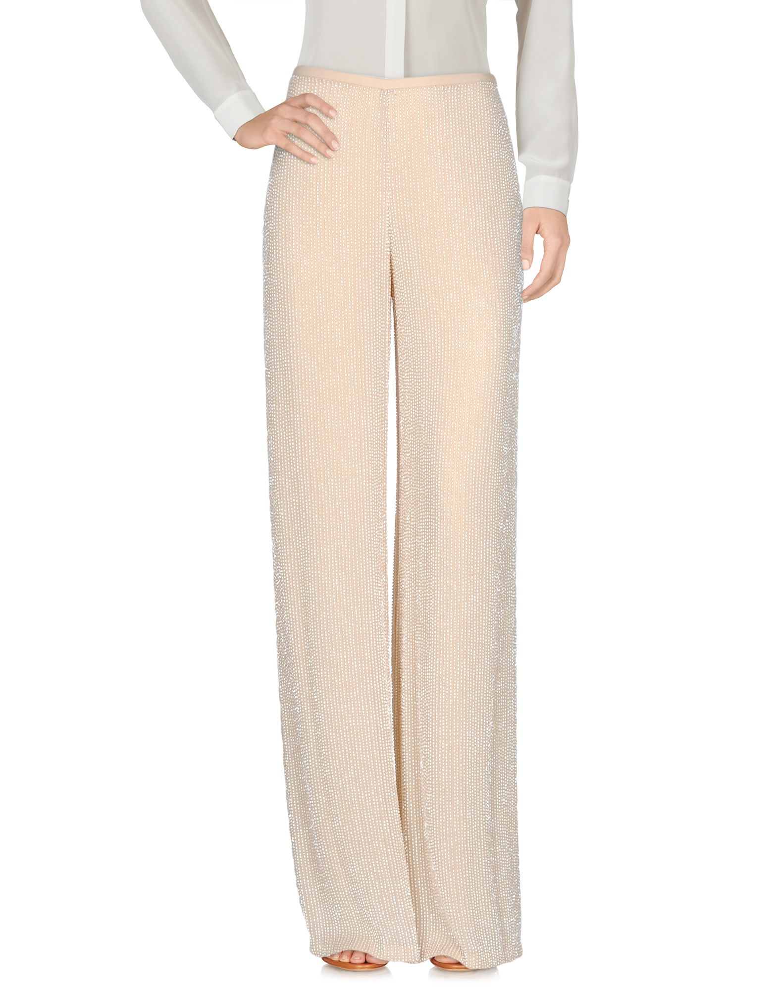 ARMANI COLLEZIONI Damen Hose Farbe Beige Größe 3