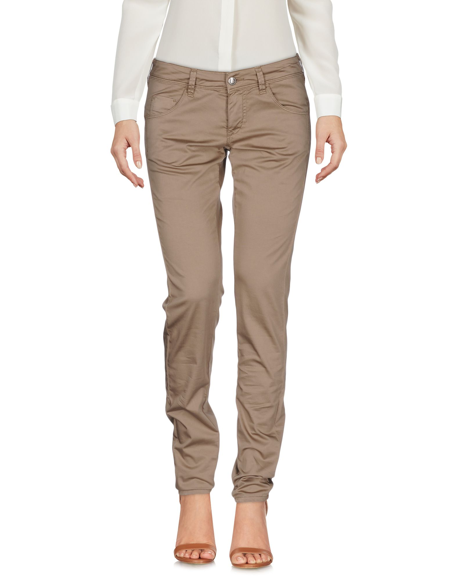 FAY Damen Hose Farbe Khaki Größe 8 - broschei