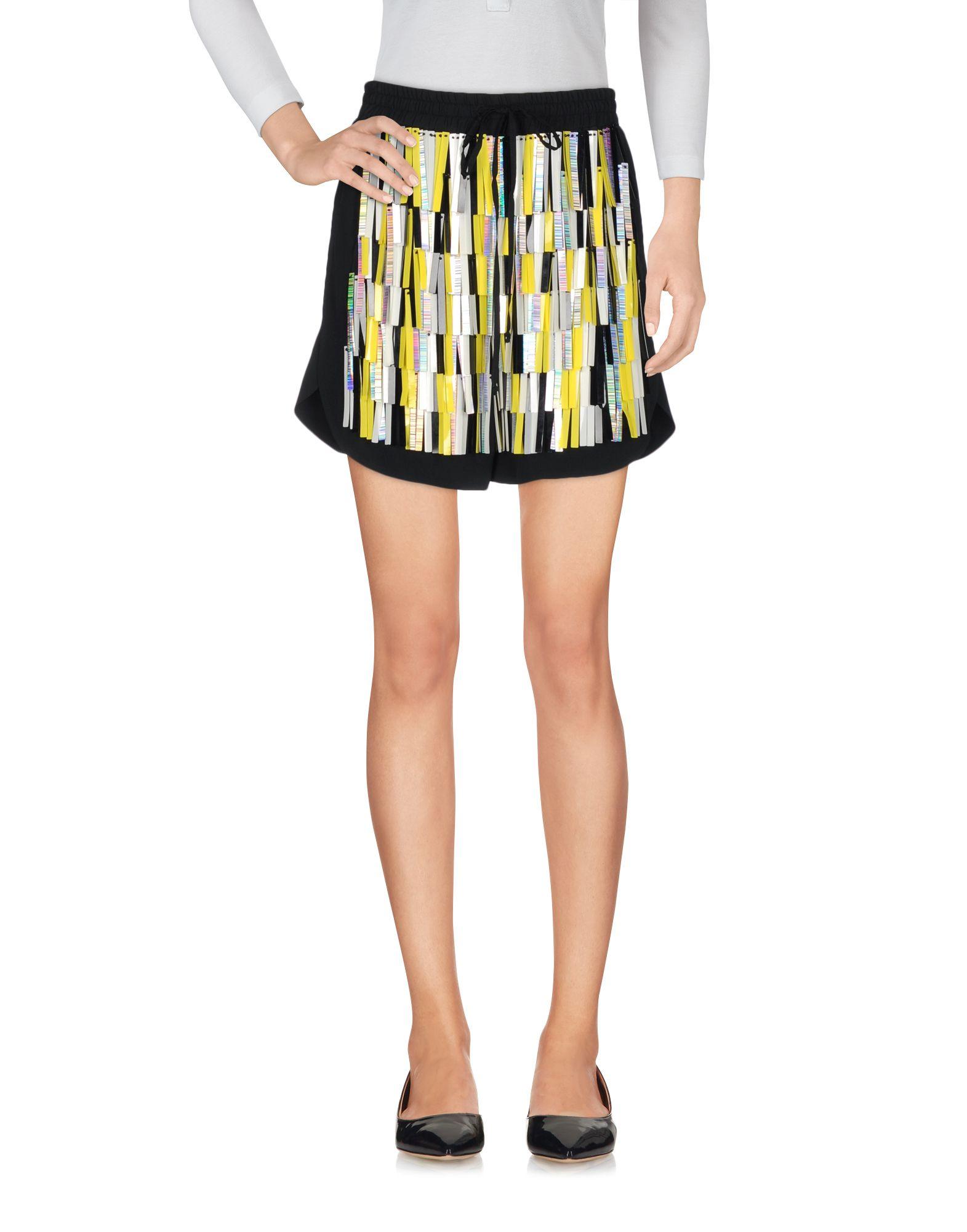 SIMONA CORSELLINI Damen Shorts Farbe Schwarz Größe 4 jetztbilligerkaufen