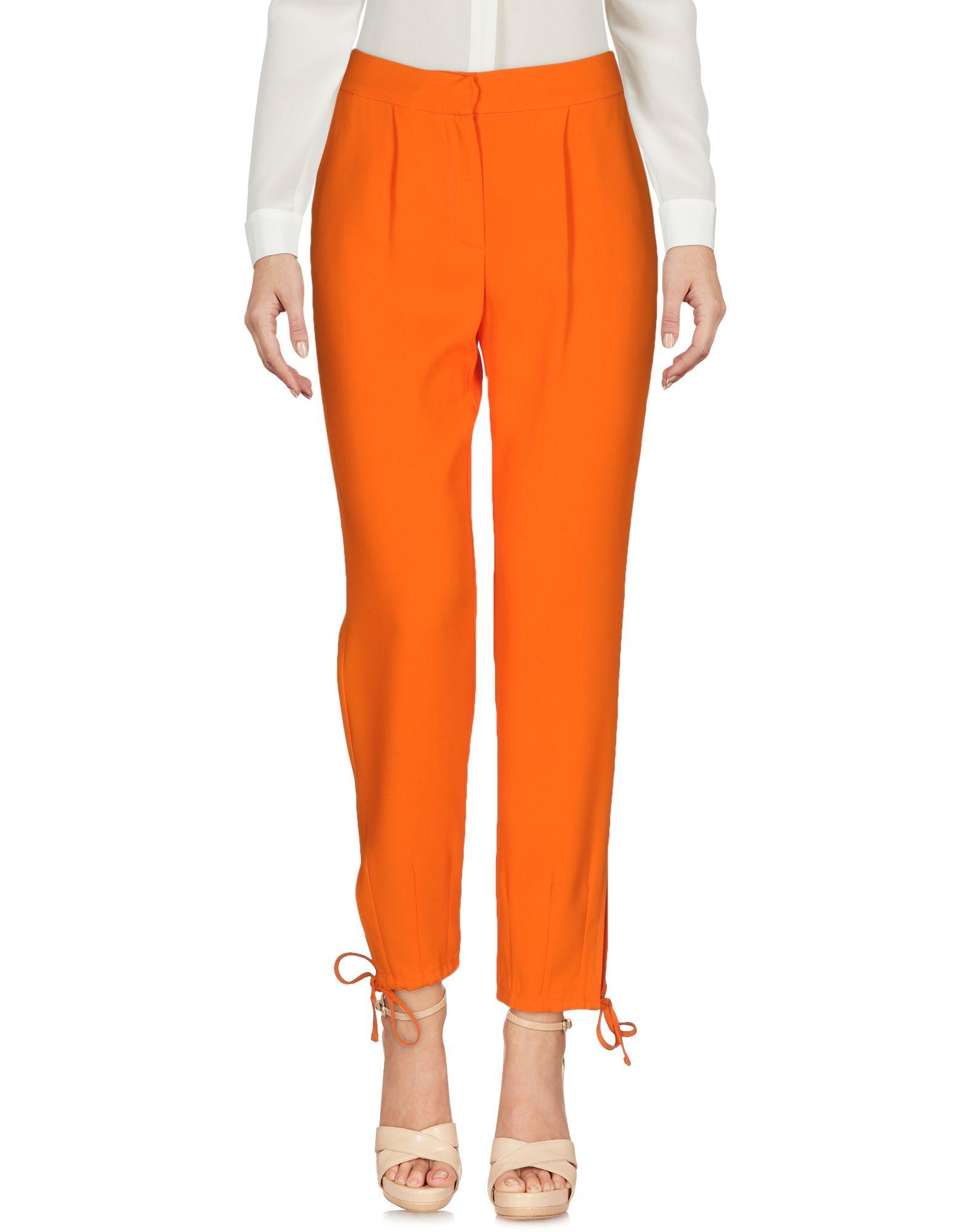 SIMONA CORSELLINI Damen Hose Farbe Orange Größe 3 jetztbilligerkaufen
