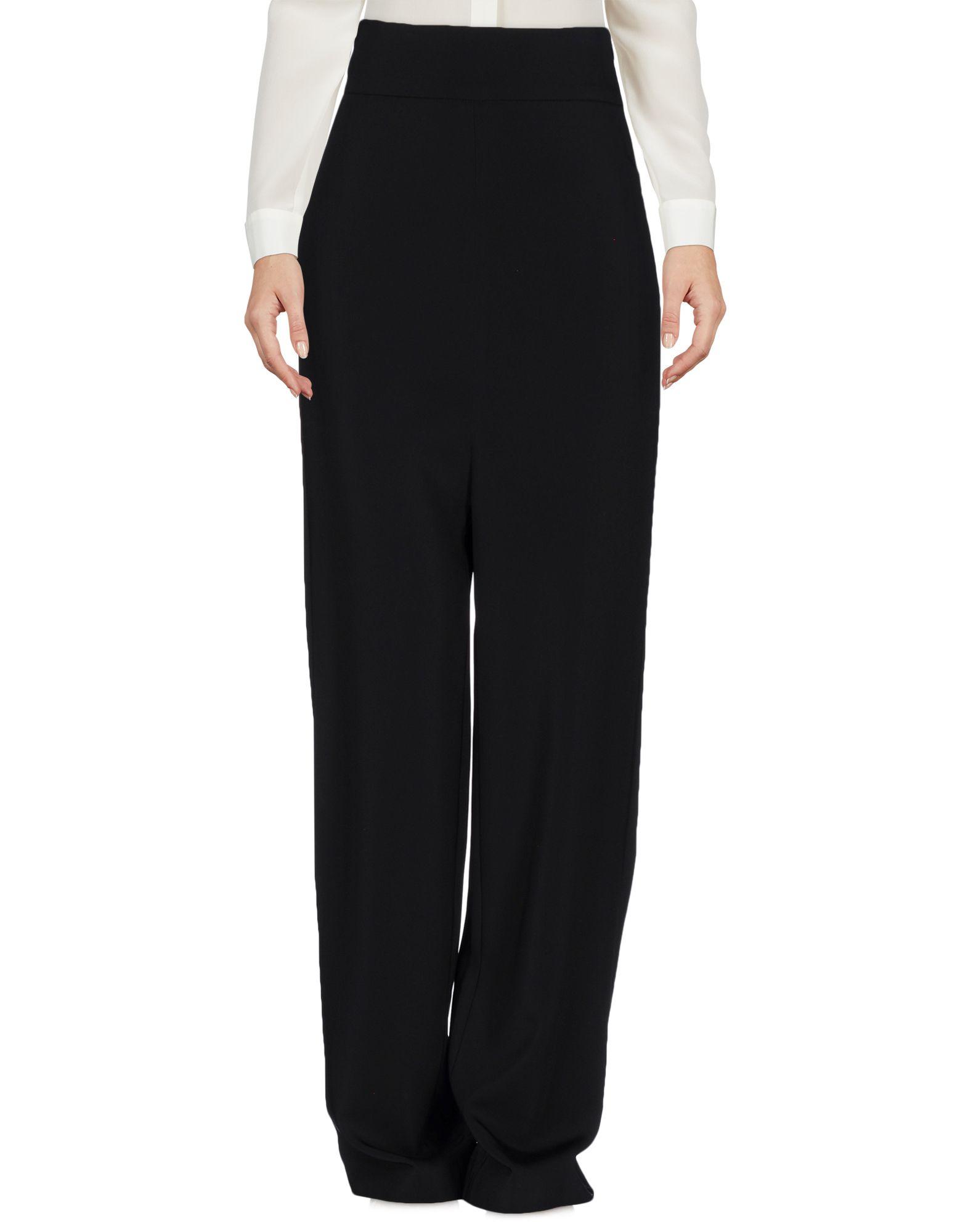 SIMONA CORSELLINI Damen Hose Farbe Schwarz Größe 6 jetztbilligerkaufen