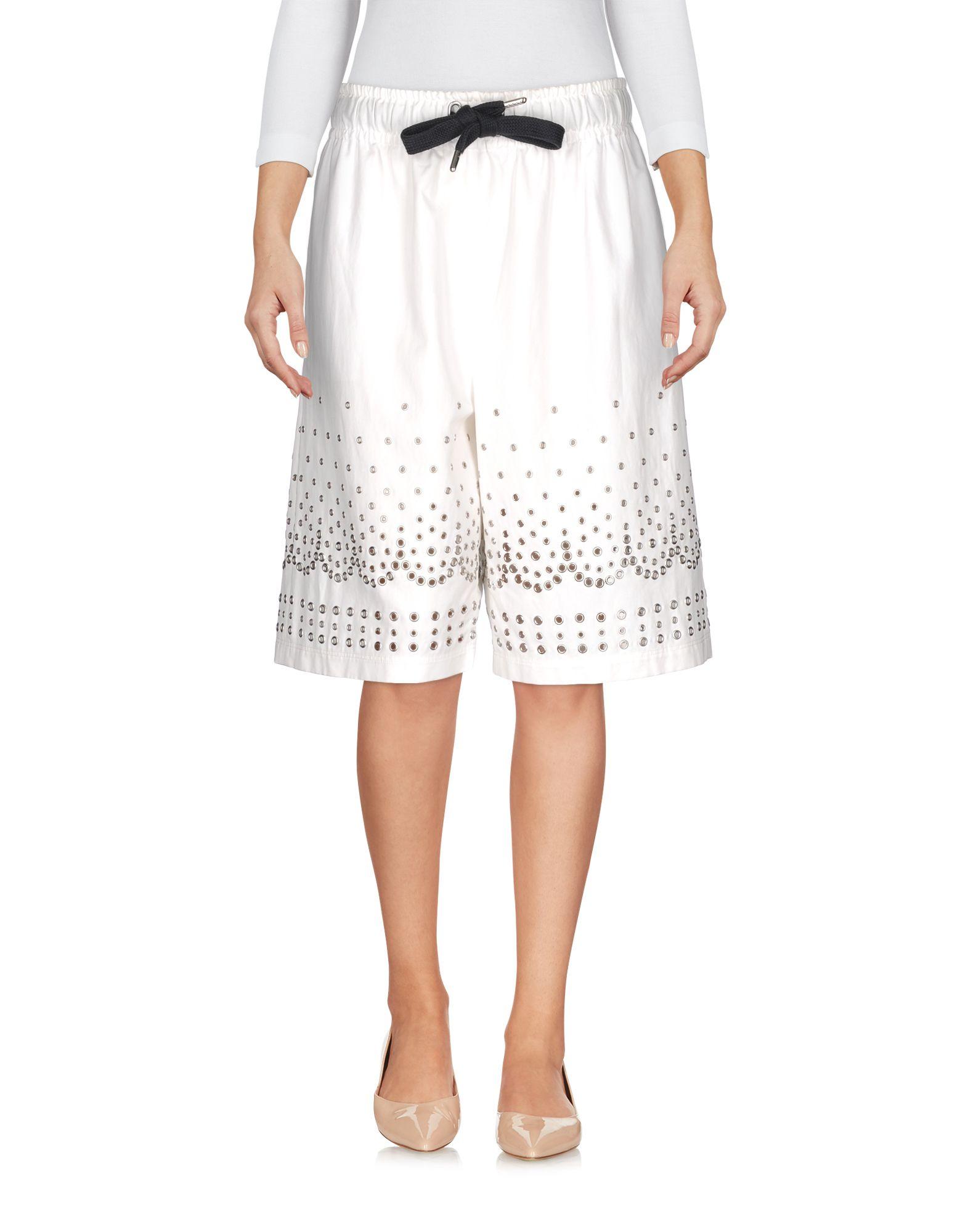 ALEXANDER WANG Damen Bermudashorts Farbe Weiß Größe 3 - broschei