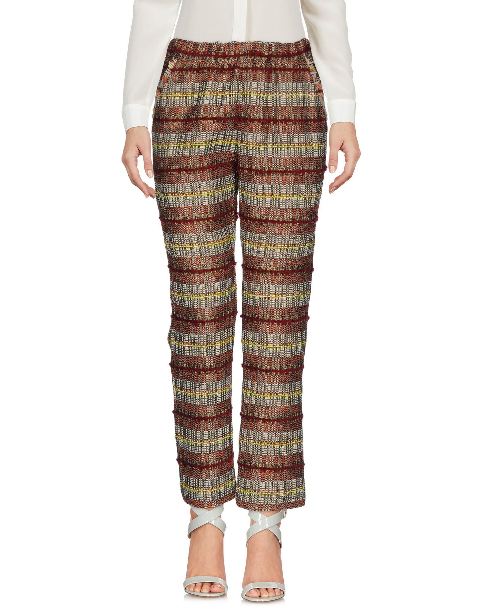 SUOLI Повседневные брюки suoli повседневные брюки