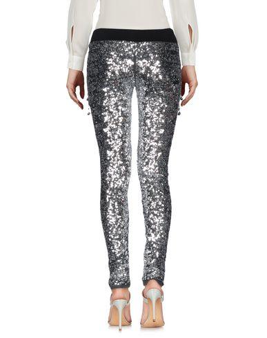 Фото 2 - Повседневные брюки серебристого цвета