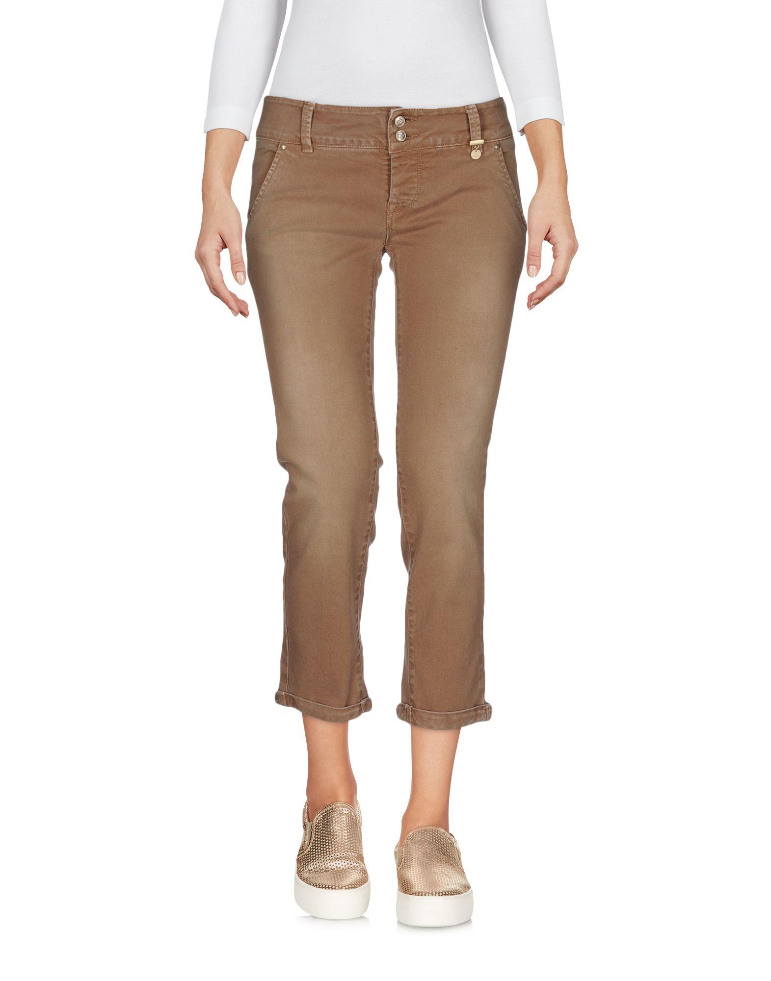 ROŸ ROGER'S CHOICE Джинсовые брюки-капри цена 2017