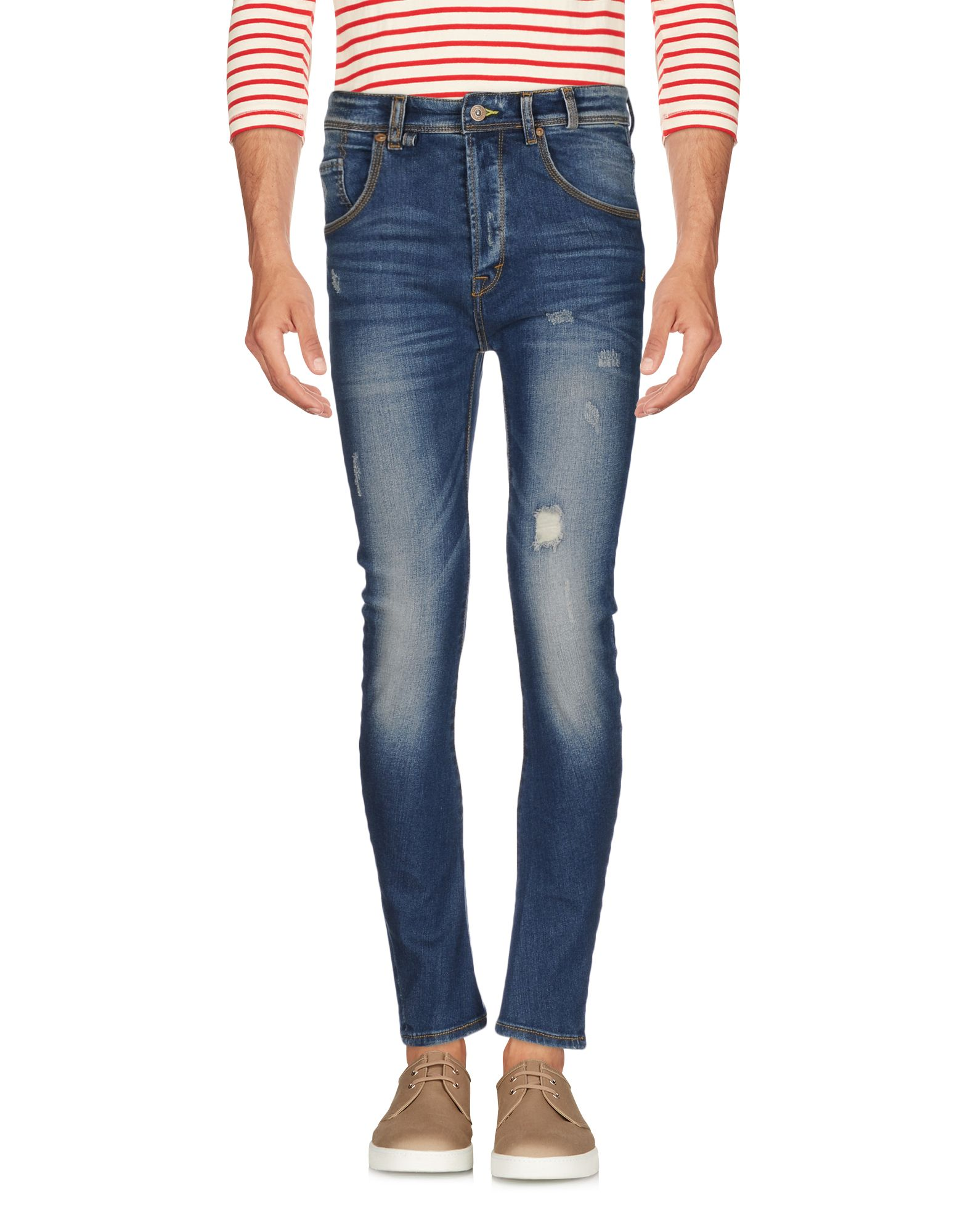 где купить UNITY Джинсовые брюки по лучшей цене