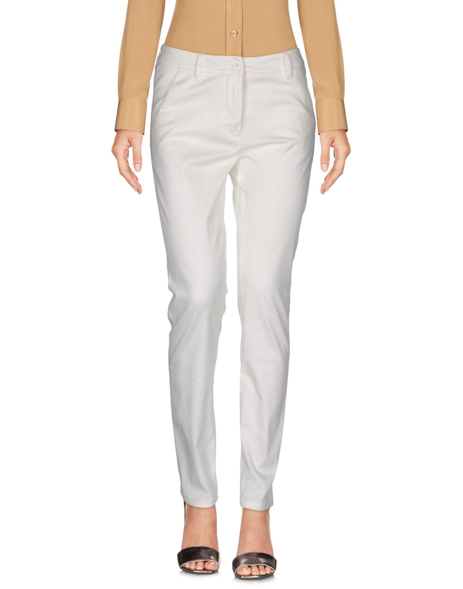 VIA MASINI 80 Damen Hose Farbe Weiß Größe 5