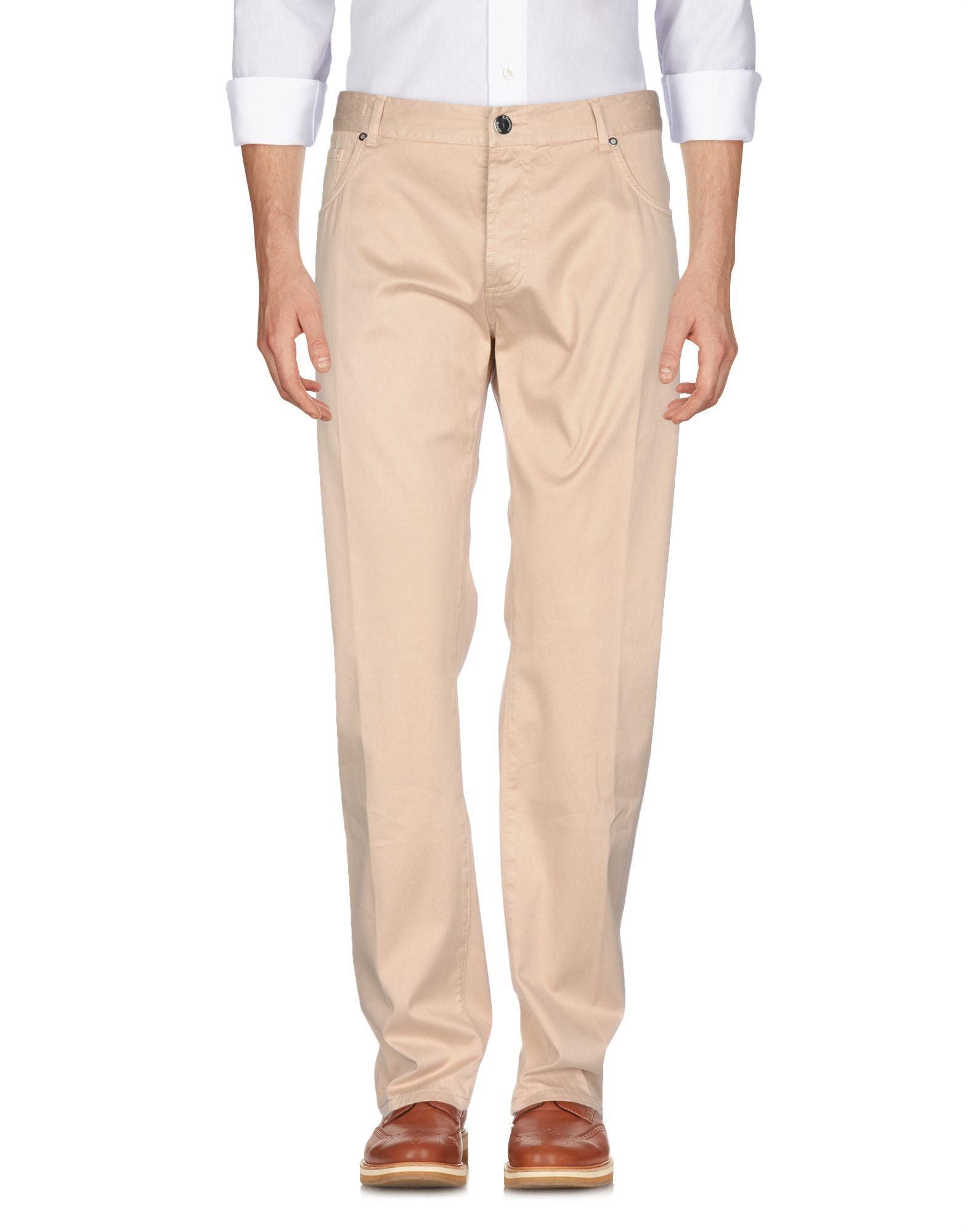 《セール開催中》E.MARINELLA メンズ パンツ ベージュ 38 コットン 98% / ポリウレタン 2%