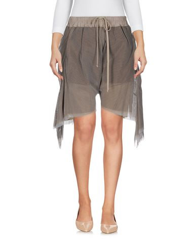 RICK OWENS TROUSERS Bermuda shorts Women