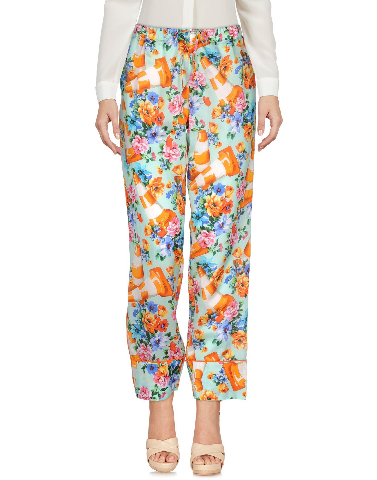 MOSCHINO Повседневные брюки брюки moschino брюки классические
