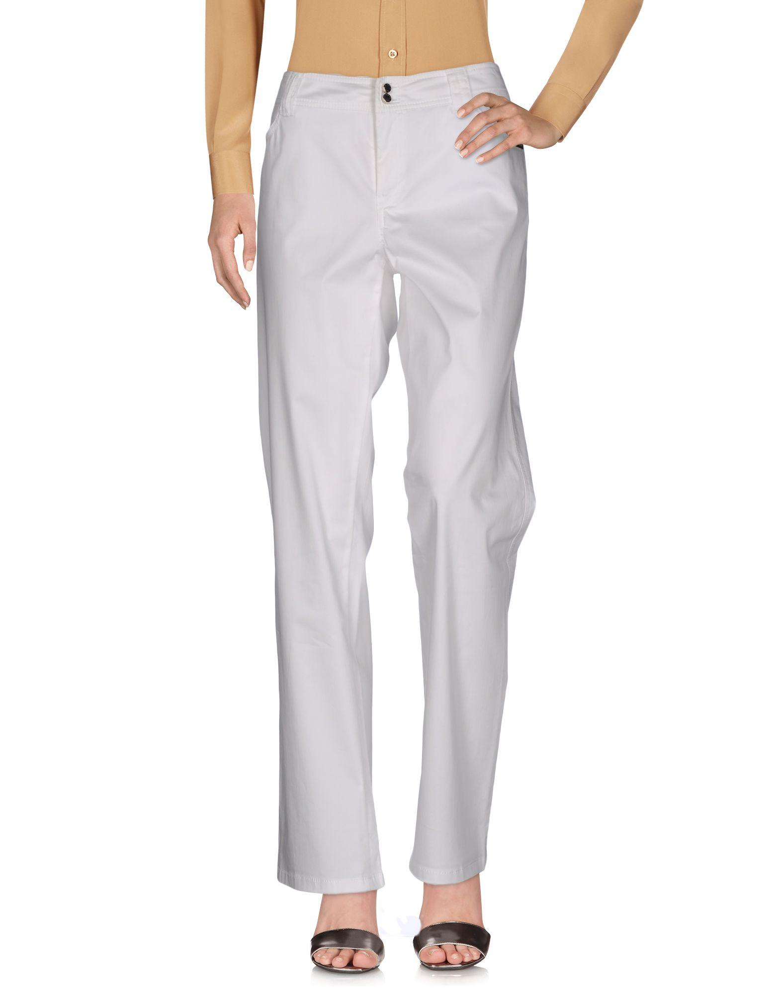 ALBA CONDE Damen Hose Farbe Weiß Größe 8
