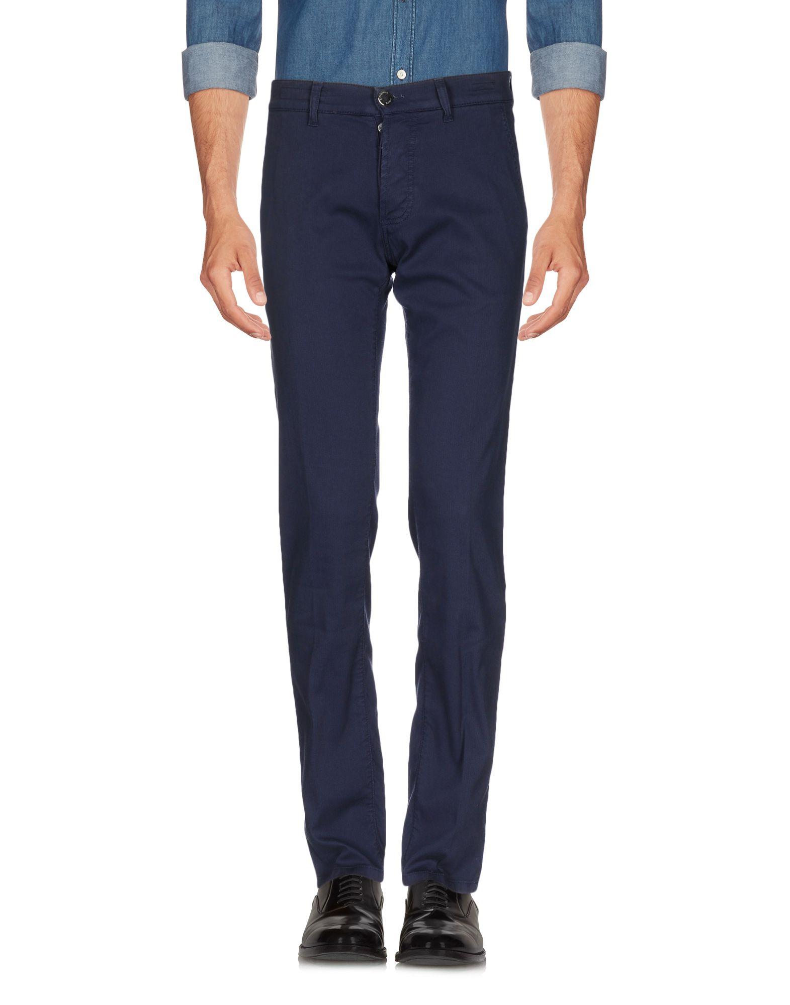 《期間限定 セール開催中》E.MARINELLA メンズ パンツ ダークパープル 32 コットン 98% / ポリウレタン 2%