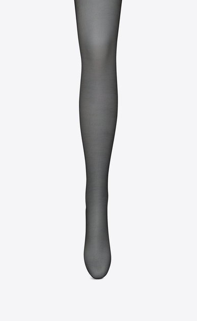 SAINT LAURENT RTW accessories D Sheer Black YSL Tights b_V4