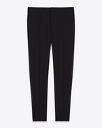 SAINT LAURENT Classic Pant D Iconic Black LE SMOKING Low Waisted Trouser f