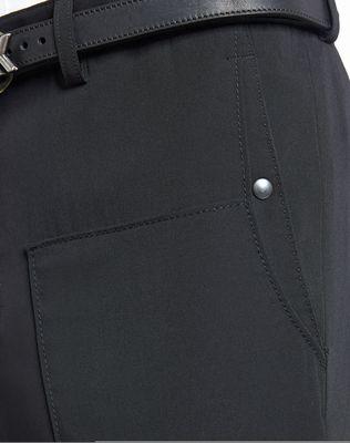 LANVIN SLIM-FIT TROUSERS WITH SIDE LACES Pants U a