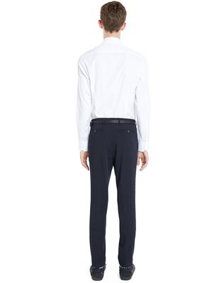 LANVIN SLIM-FIT TROUSERS WITH REFLECTIVE PATCHES Pants U d