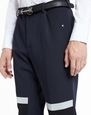 LANVIN Pants Man SLIM-FIT TROUSERS WITH REFLECTIVE PATCHES f
