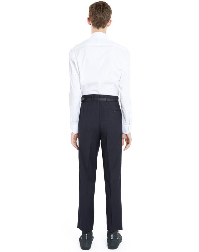 LANVIN EMBROIDERED STRAIGHT-LEG TROUSERS Pants U d