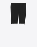 SAINT LAURENT Classic Pant U Iconic Black LE SMOKING Bermuda Short f