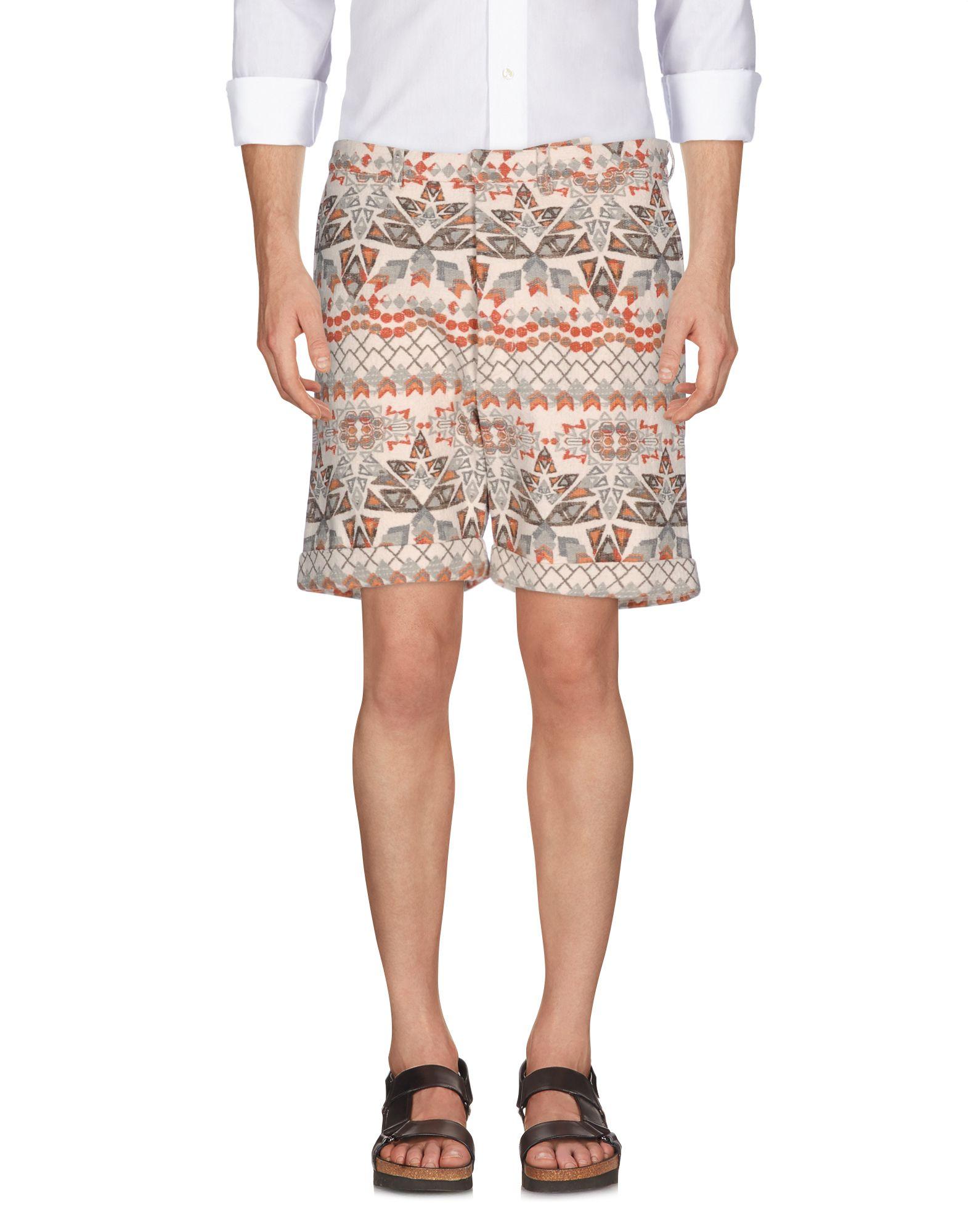 MONITALY Shorts & Bermuda in White