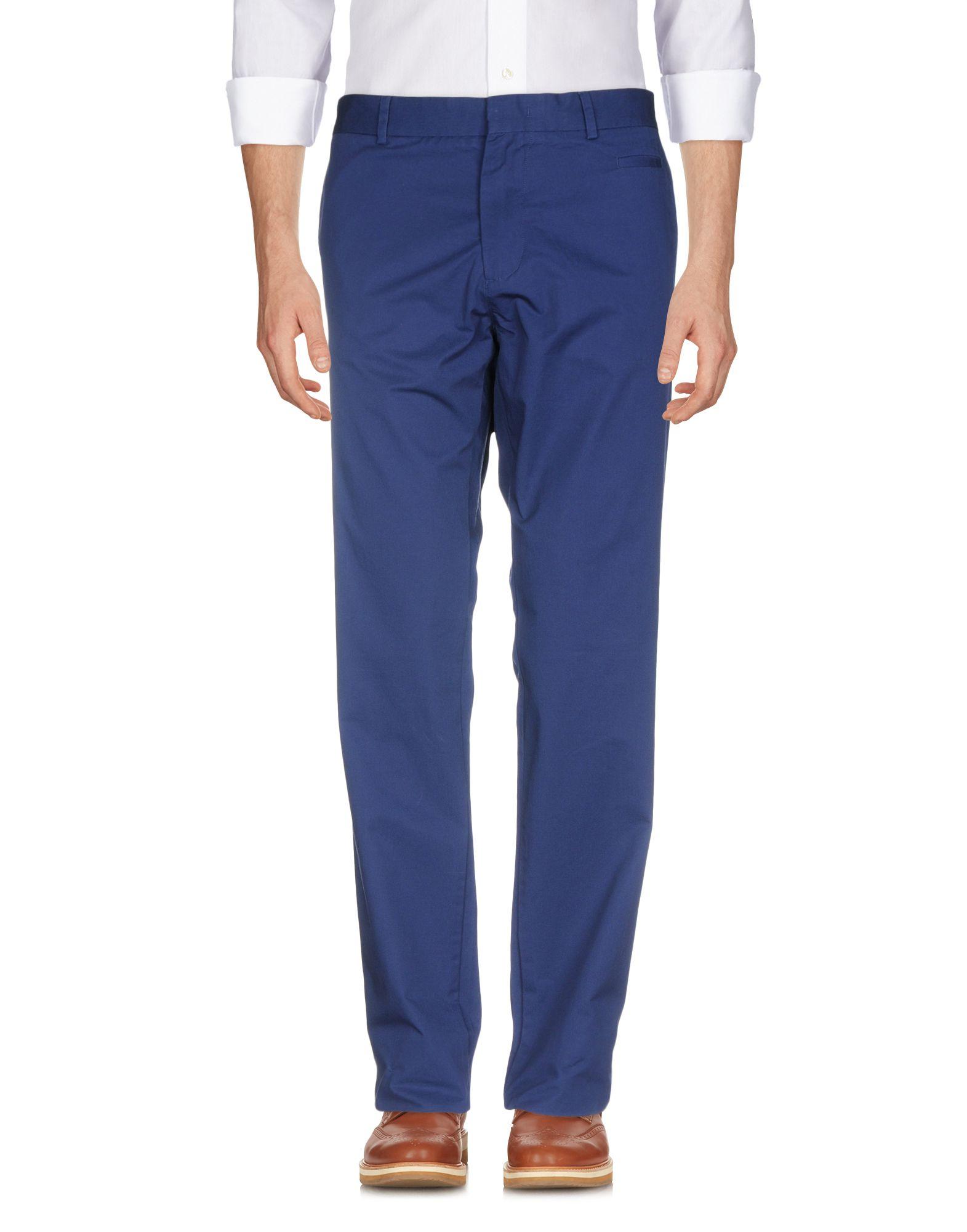 《送料無料》ZZEGNA メンズ パンツ ブルー 58 コットン 100%