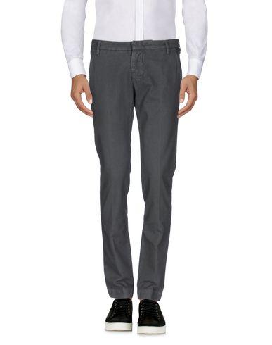 Фото - Повседневные брюки от ENTRE AMIS свинцово-серого цвета
