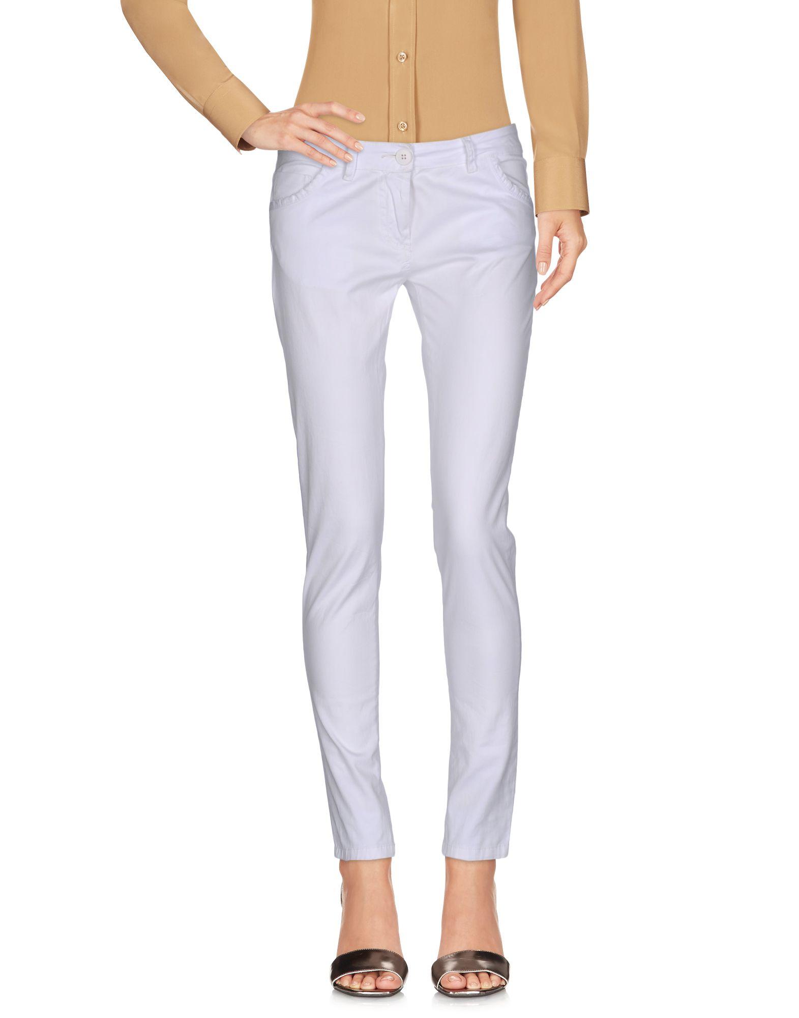 ANIYE BY Damen Hose Farbe Weiß Größe 2