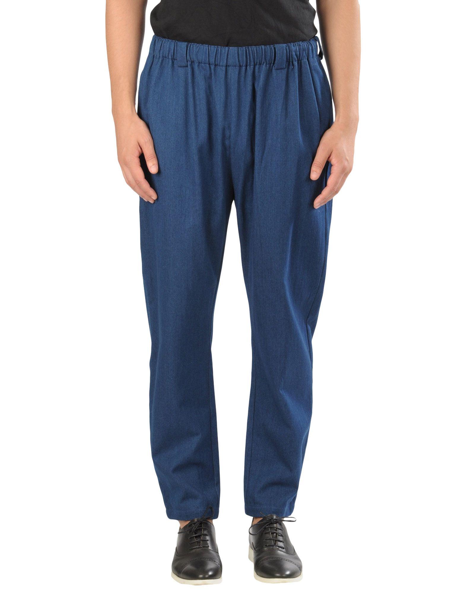 《送料無料》LUCIO VANOTTI メンズ パンツ ブルー 3 コットン