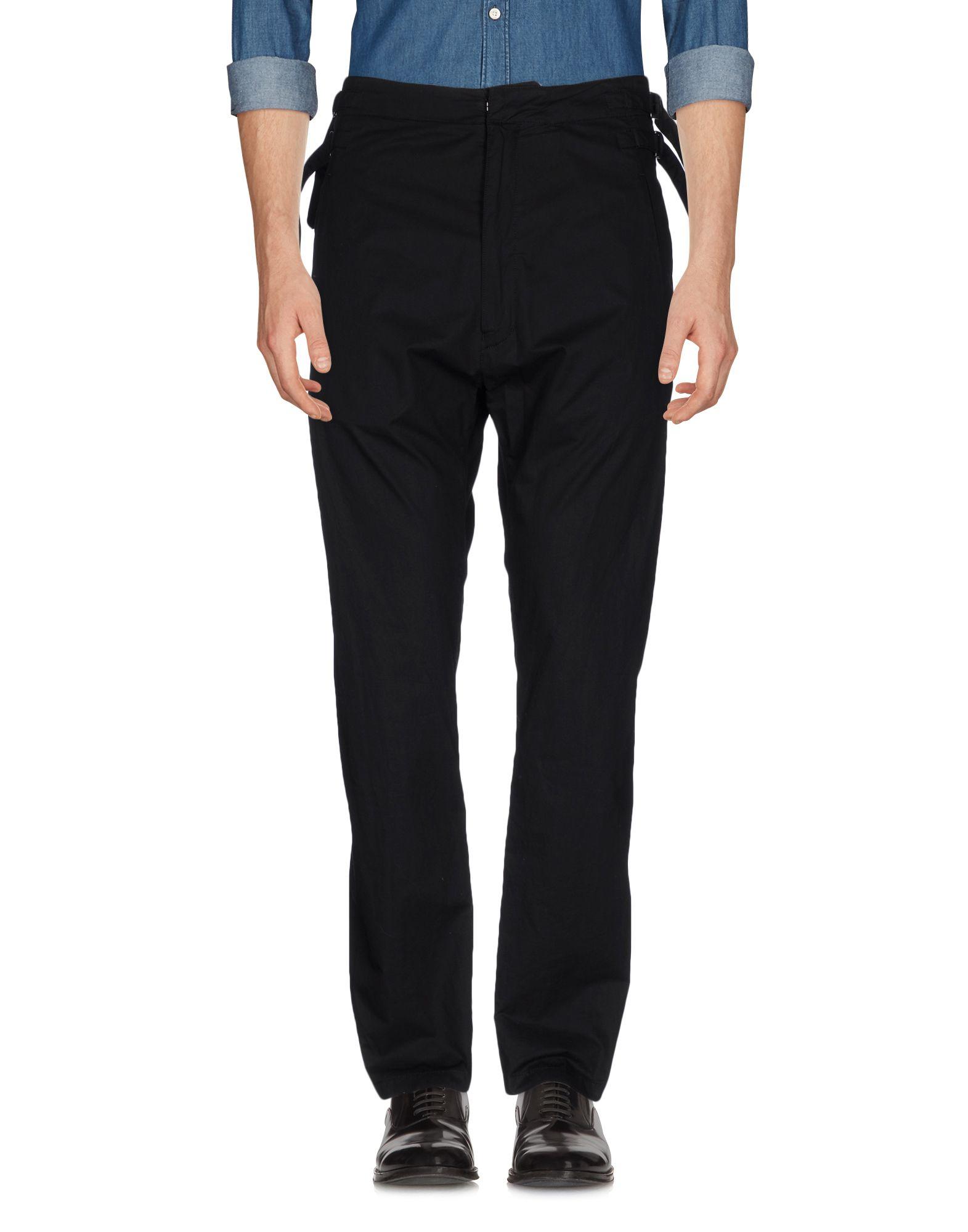 цена NUDE:MASAHIKO MARUYAMA Повседневные брюки онлайн в 2017 году