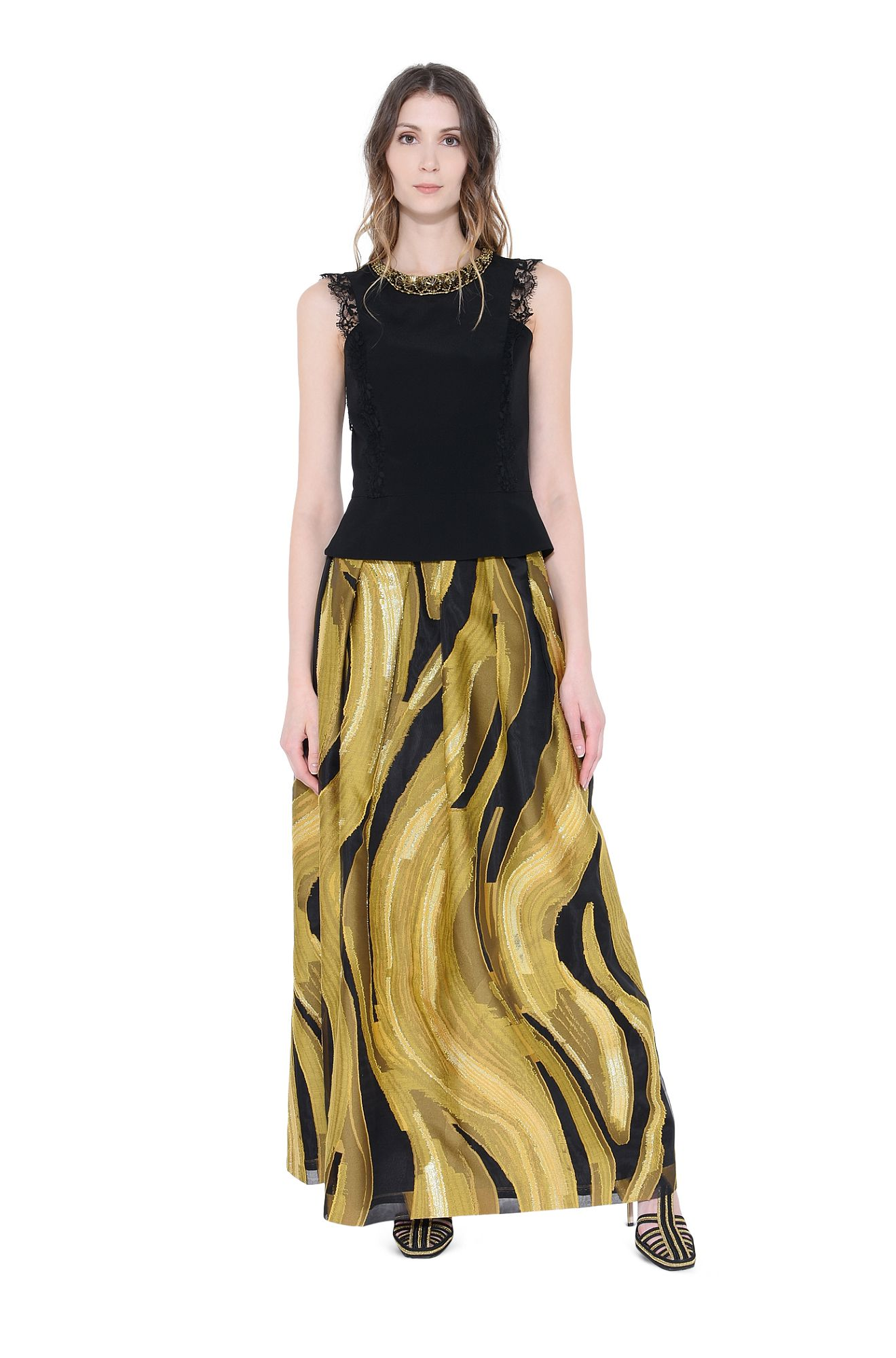 GOLD WAVES-SKIRT
