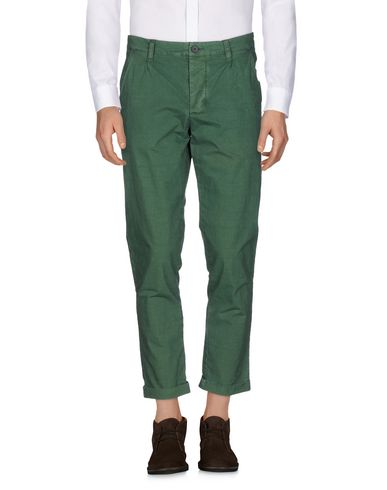 Фото - Повседневные брюки от RANSOM зеленого цвета