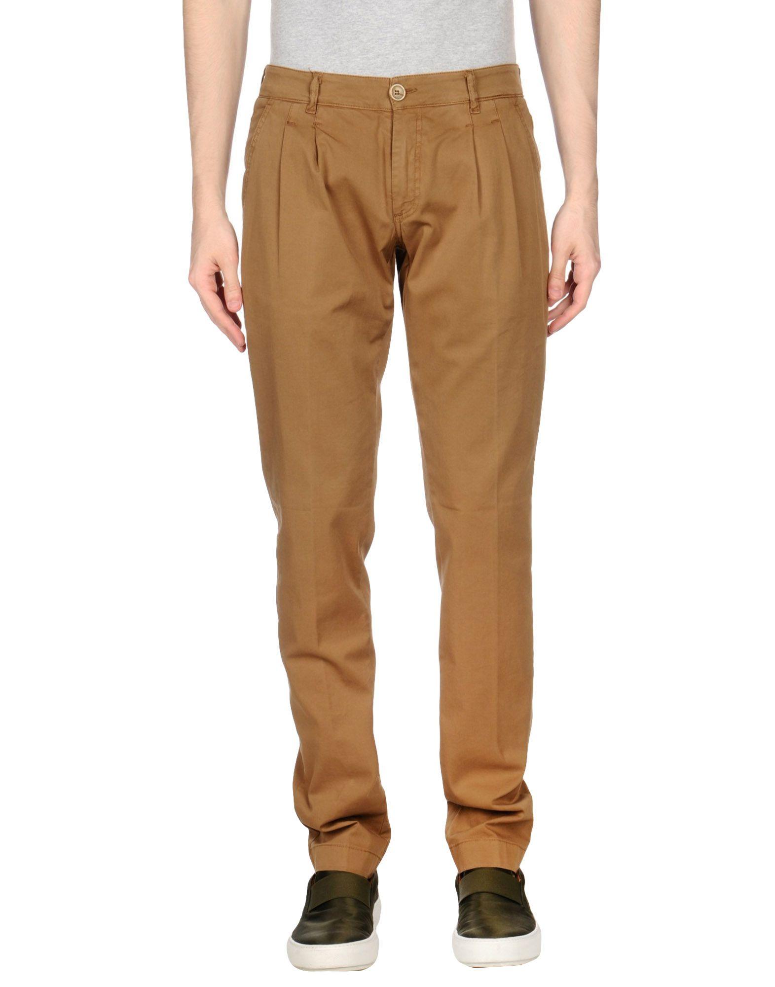 《期間限定 セール開催中》E2 メンズ パンツ キャメル 44 コットン 97% / ポリウレタン 3%