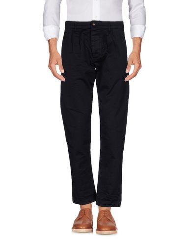 MATSUMOTO Pantalon homme. gabardine, couleur unie de base, taille normale, slim fit, évasés, sans applications, fermeture avec boutons,
