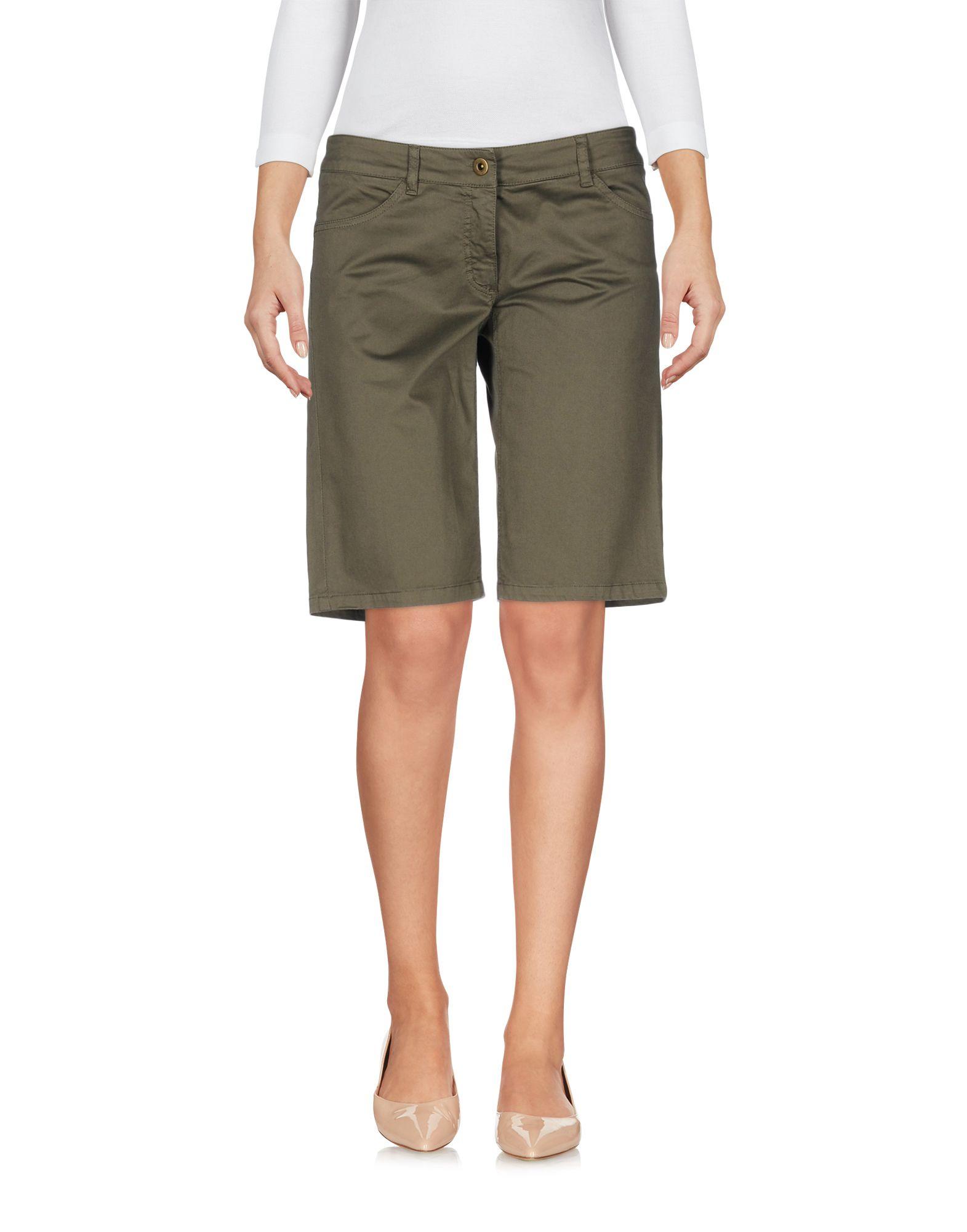 ANIYE BY Damen Bermudashorts Farbe Militärgrün Größe 3