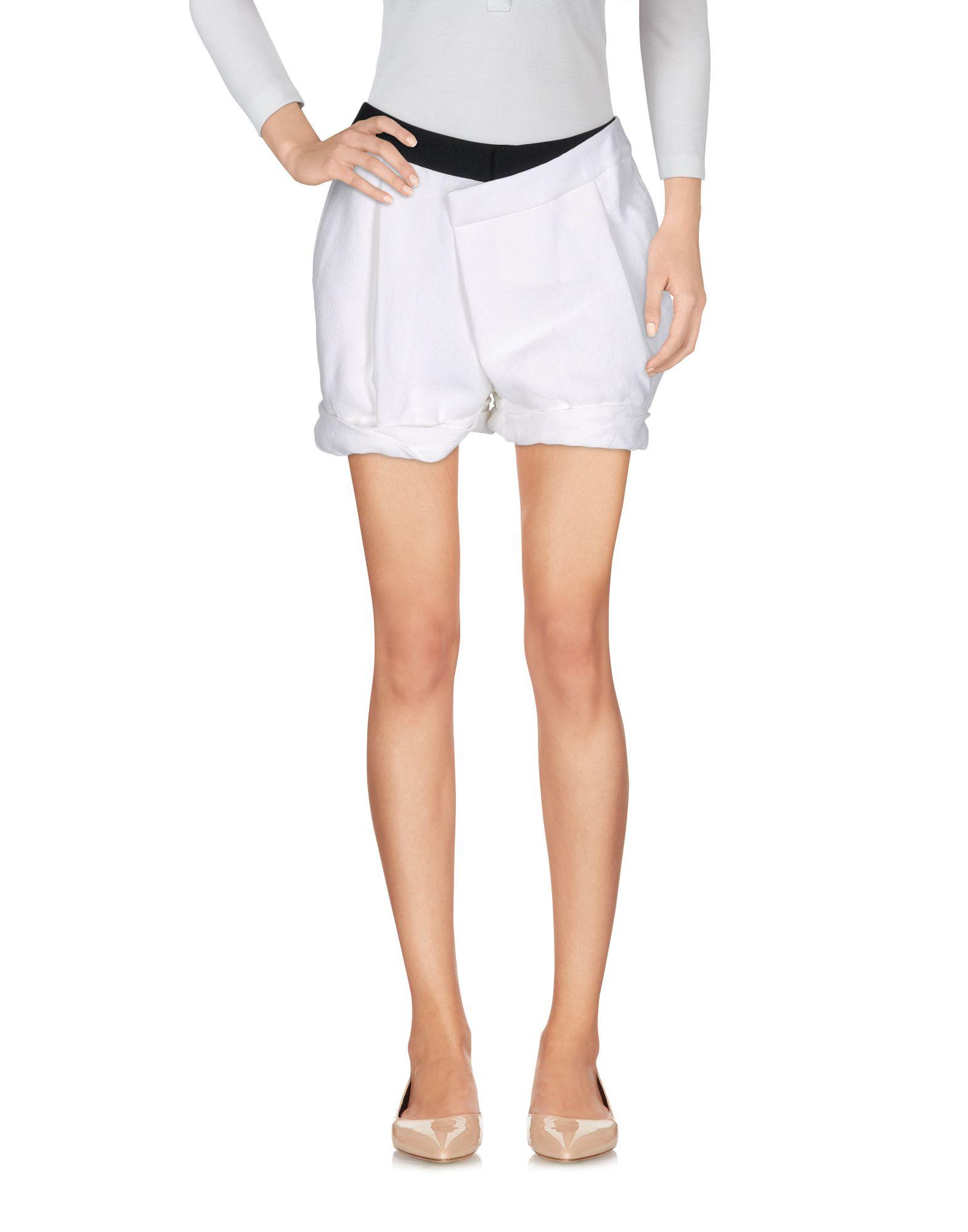 HELMUT LANG Повседневные шорты helmut lang футболка с длинными рукавами и накладками на локтях