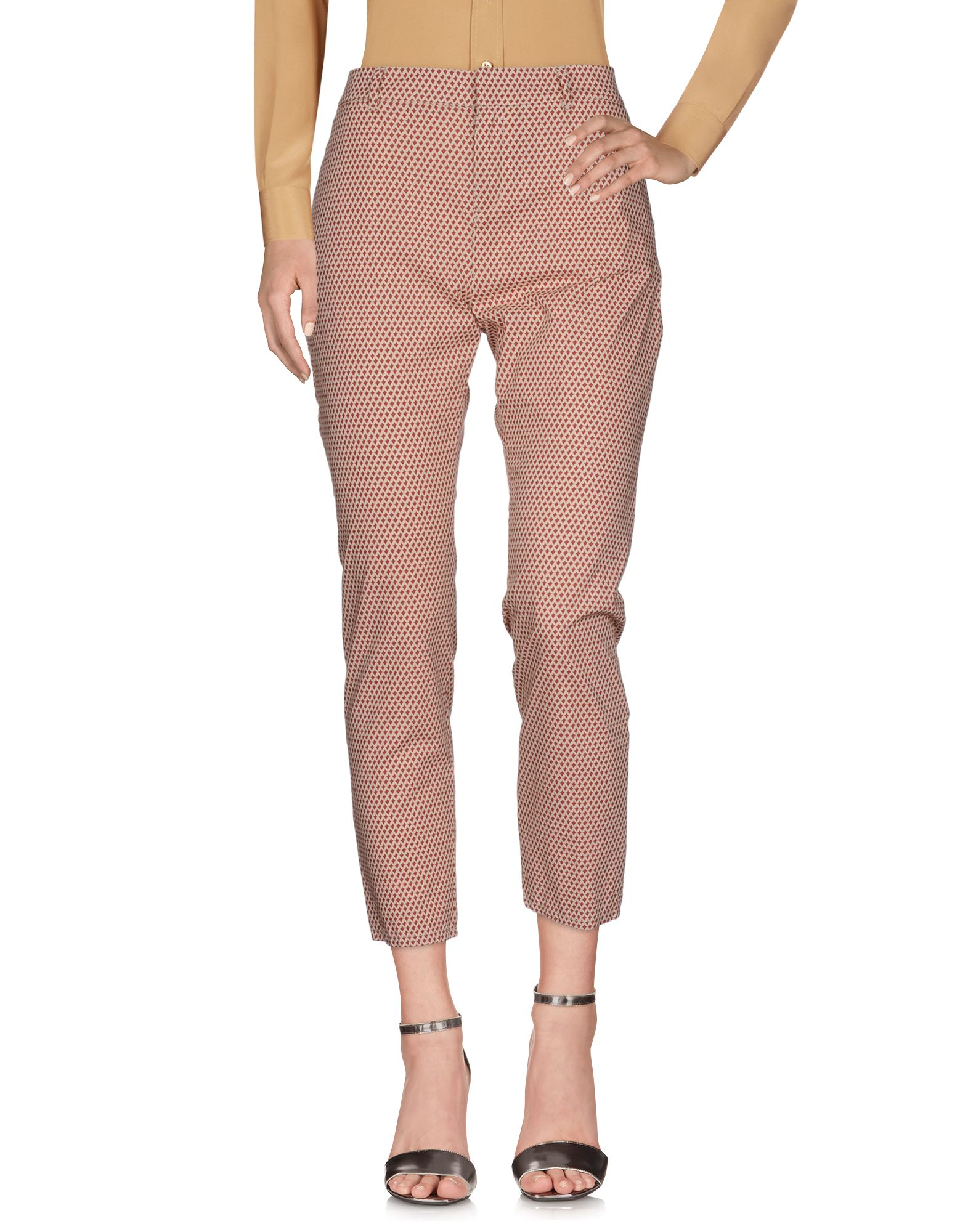 MAISON SCOTCH Casual Pants in Brick Red