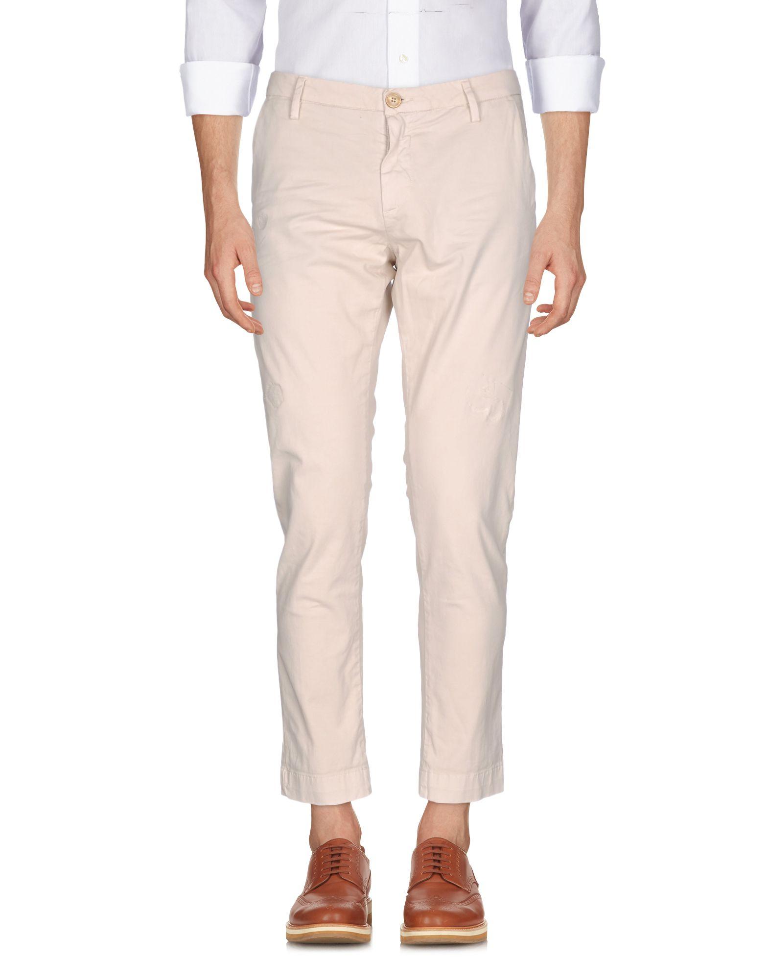 SANS FIXE DIMORE Повседневные брюки цена и фото