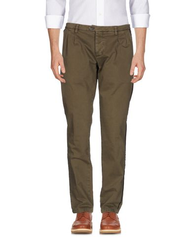 Купить Повседневные брюки от MACCHIA J темно-коричневого цвета