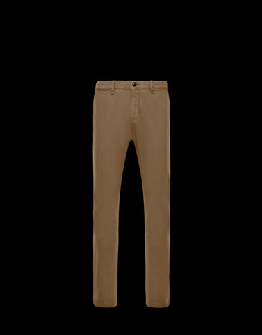 CASUAL TROUSER Khaki Category Casual trousers Man