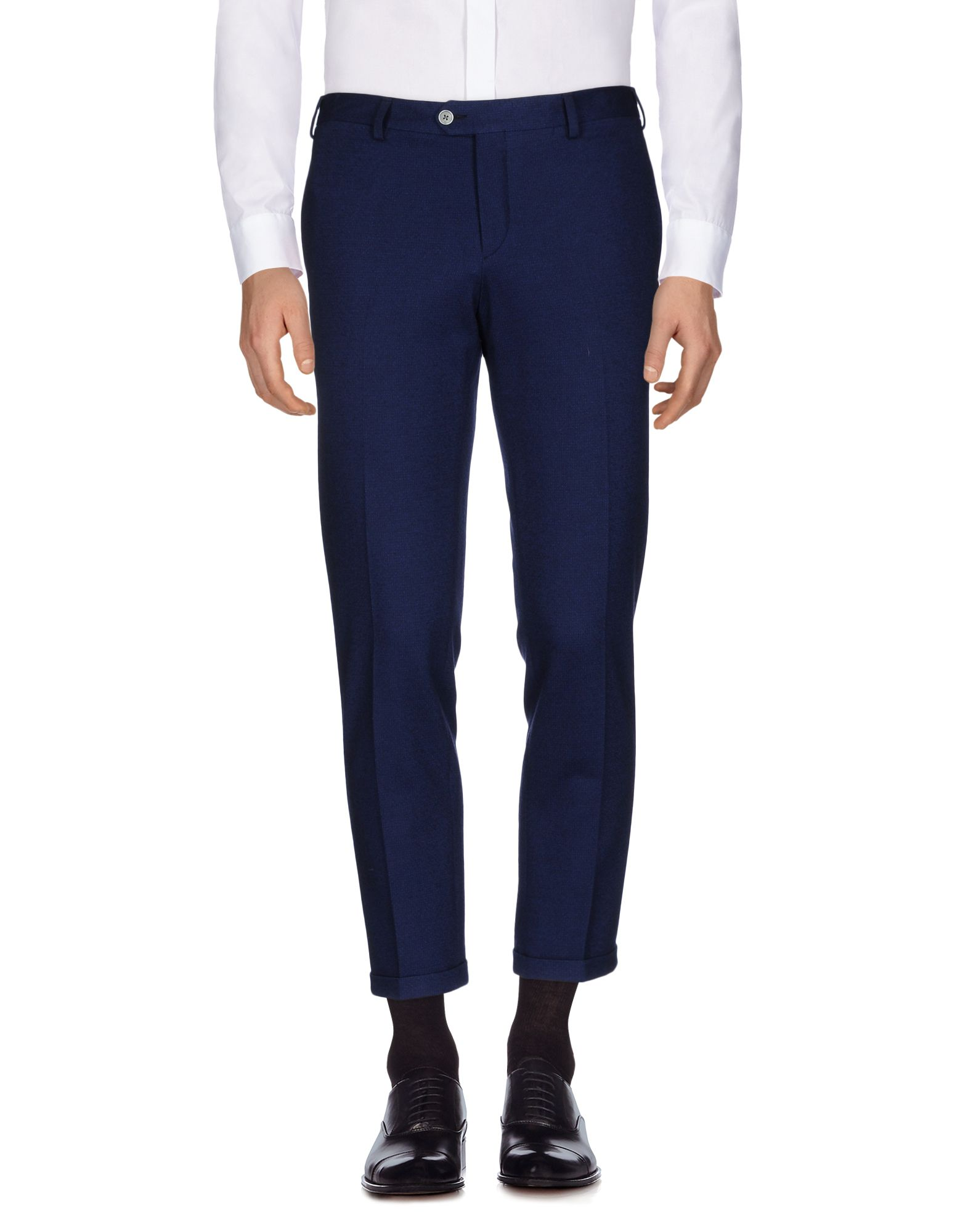 《送料無料》JOHN SHEEP メンズ パンツ ブルー 48 バージンウール / コットン / ナイロン