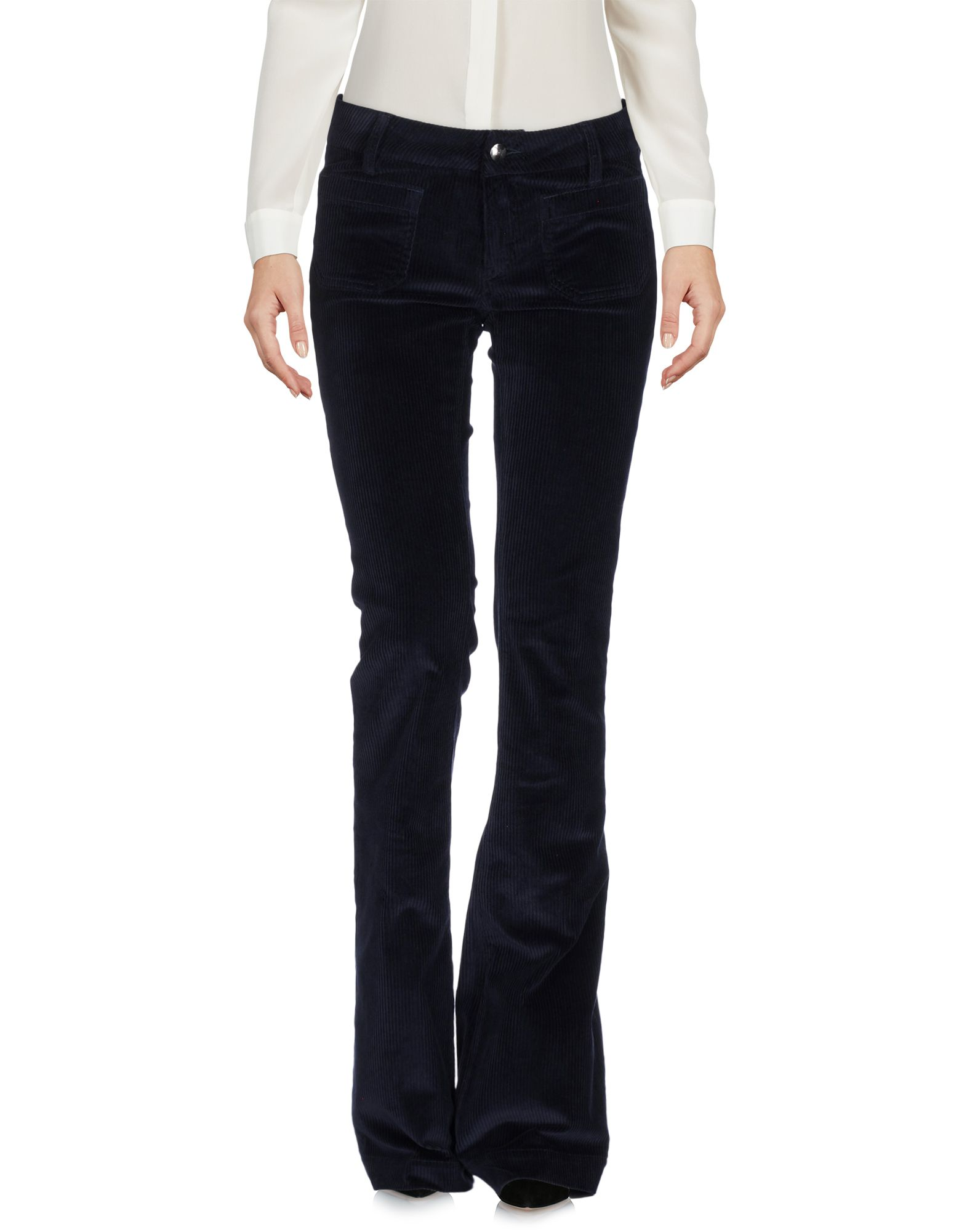 THE SEAFARER Повседневные брюки the seafarer замшевые расклешенные брюки