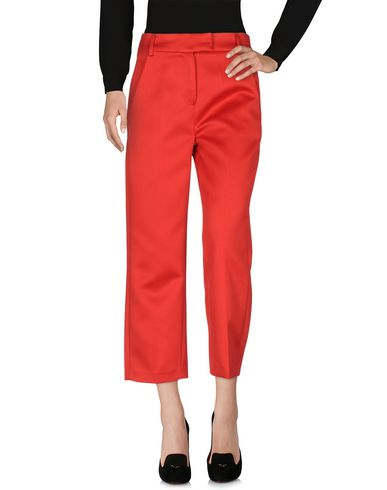 Фото - Повседневные брюки от WEILI ZHENG красного цвета