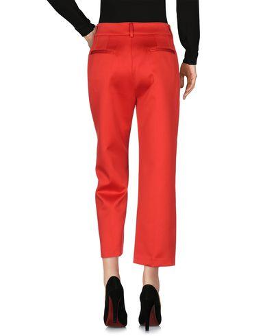 Фото 2 - Повседневные брюки от WEILI ZHENG красного цвета