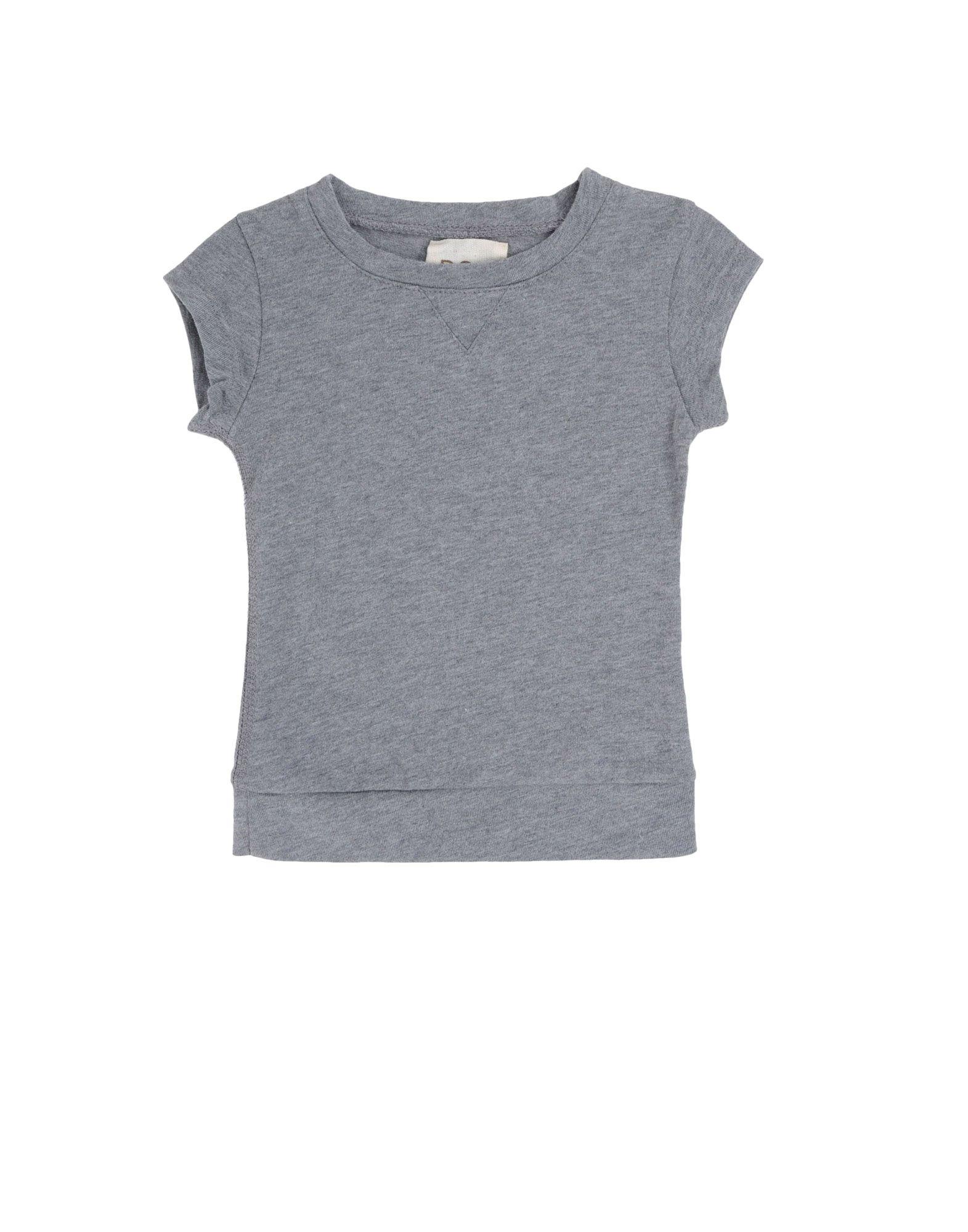 DOUUOD Mädchen 0-24 monate Kurzärmliges T-Shirt Farbe Grau Größe 4
