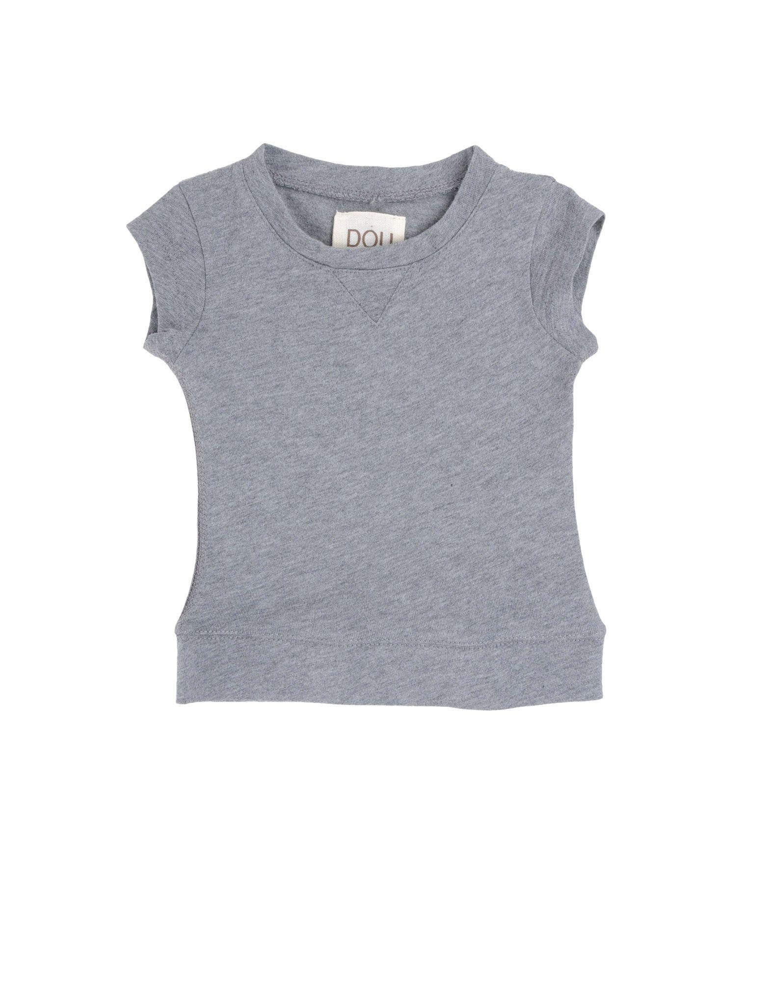 DOUUOD Mädchen 0-24 monate Kurzärmliges T-Shirt Farbe Grau Größe 3