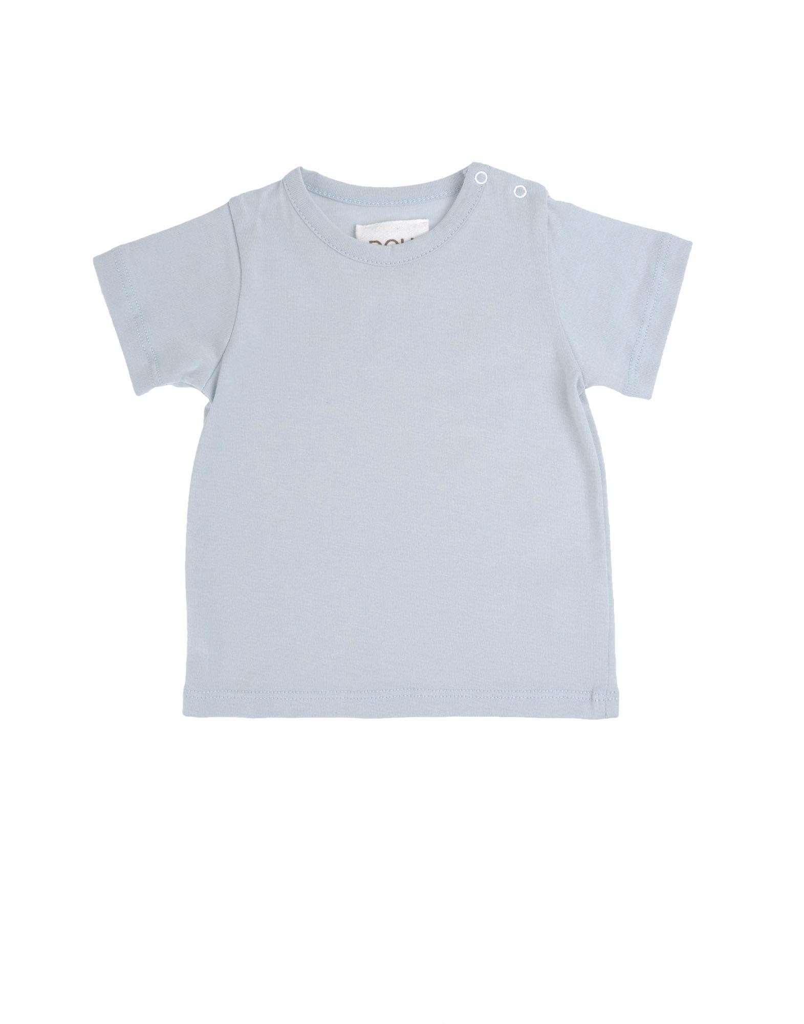 DOUUOD Mädchen 0-24 monate Kurzärmliges T-Shirt Farbe Hellgrau Größe 4