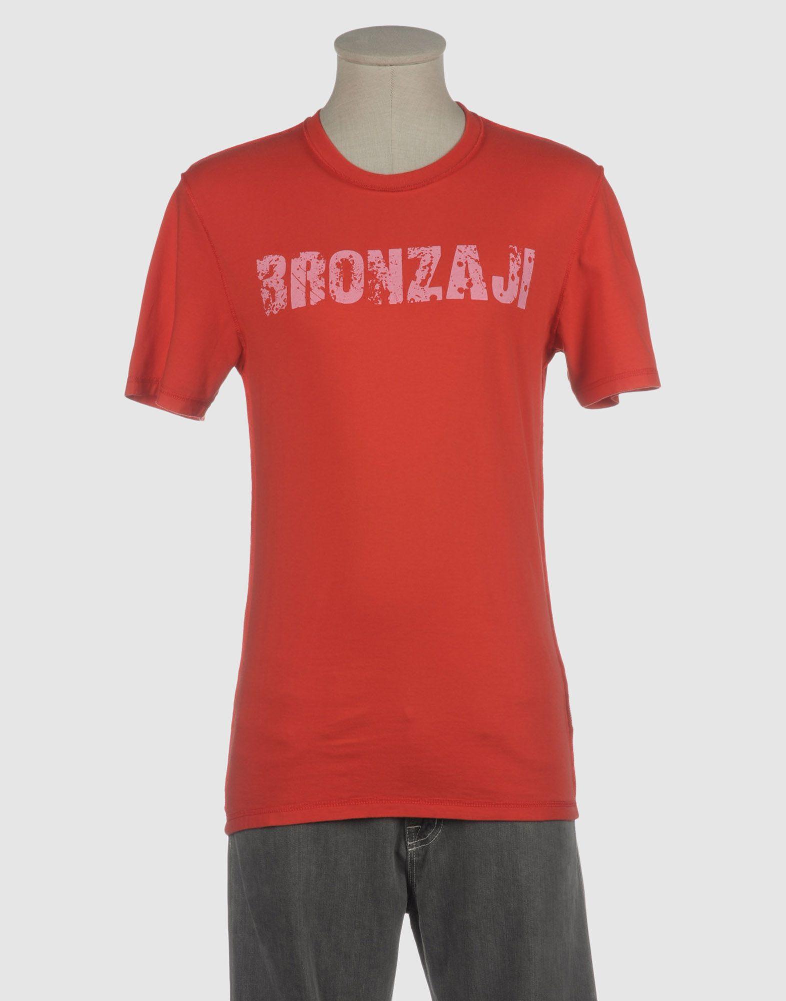 купить BRONZAJI Футболка с короткими рукавами по цене 1050 рублей