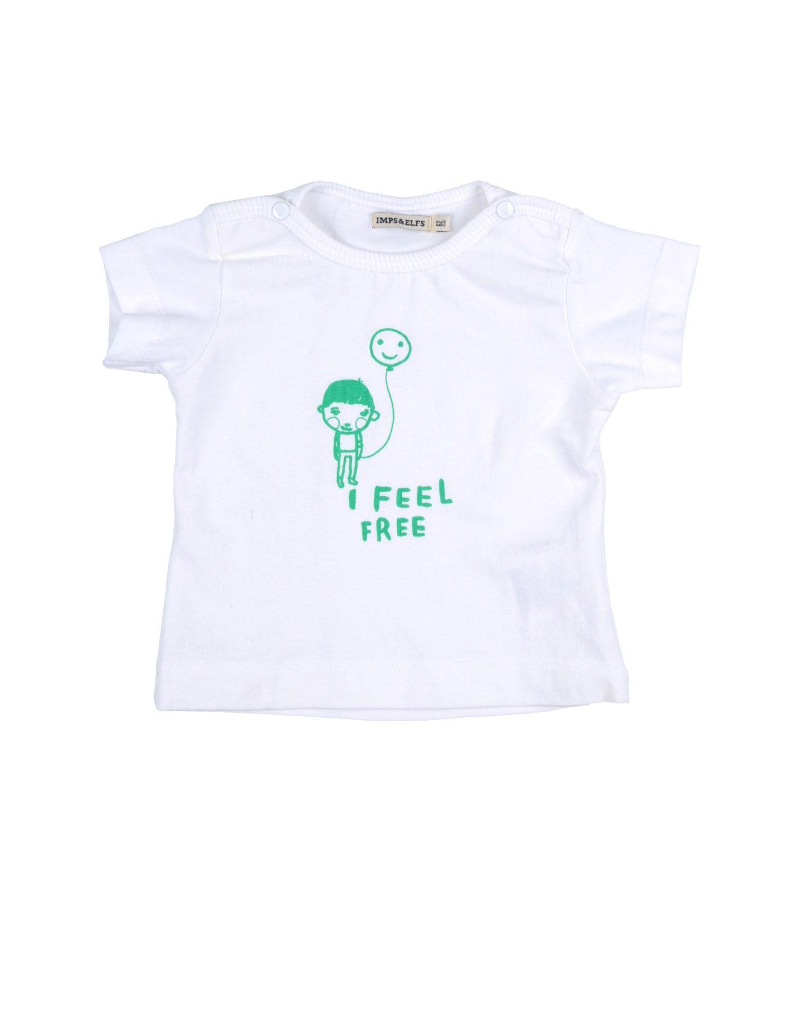 IMPS&ELFS Mädchen 0-24 monate Kurzärmliges T-Shirt Farbe Weiß Größe 6