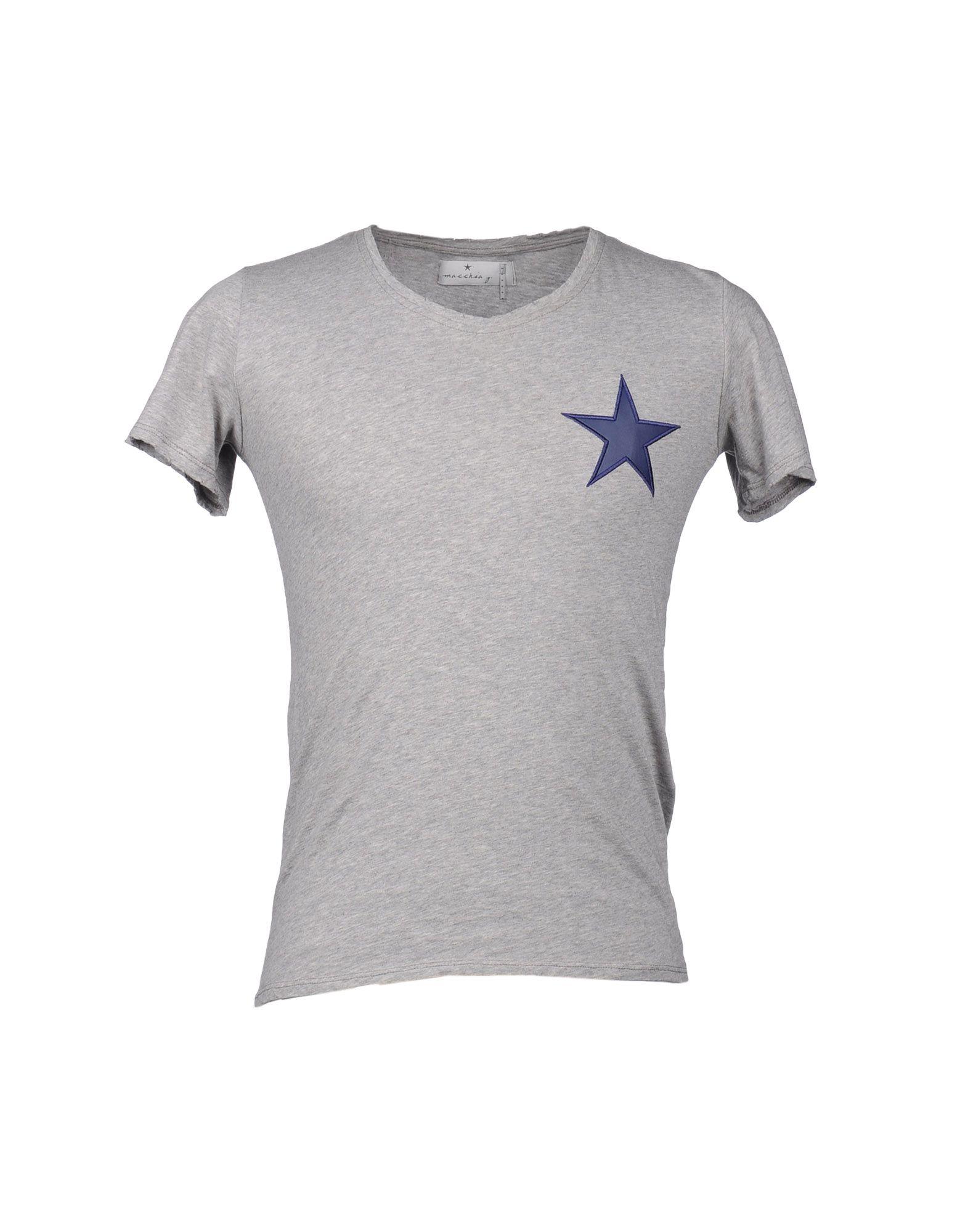 MACCHIA J Футболка с короткими рукавами футболка поло большого размера с короткими рукавами